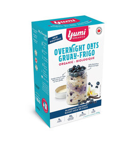 Yumi Organics Yumi Organics - Overnight Oats, Blueberry Vanilla