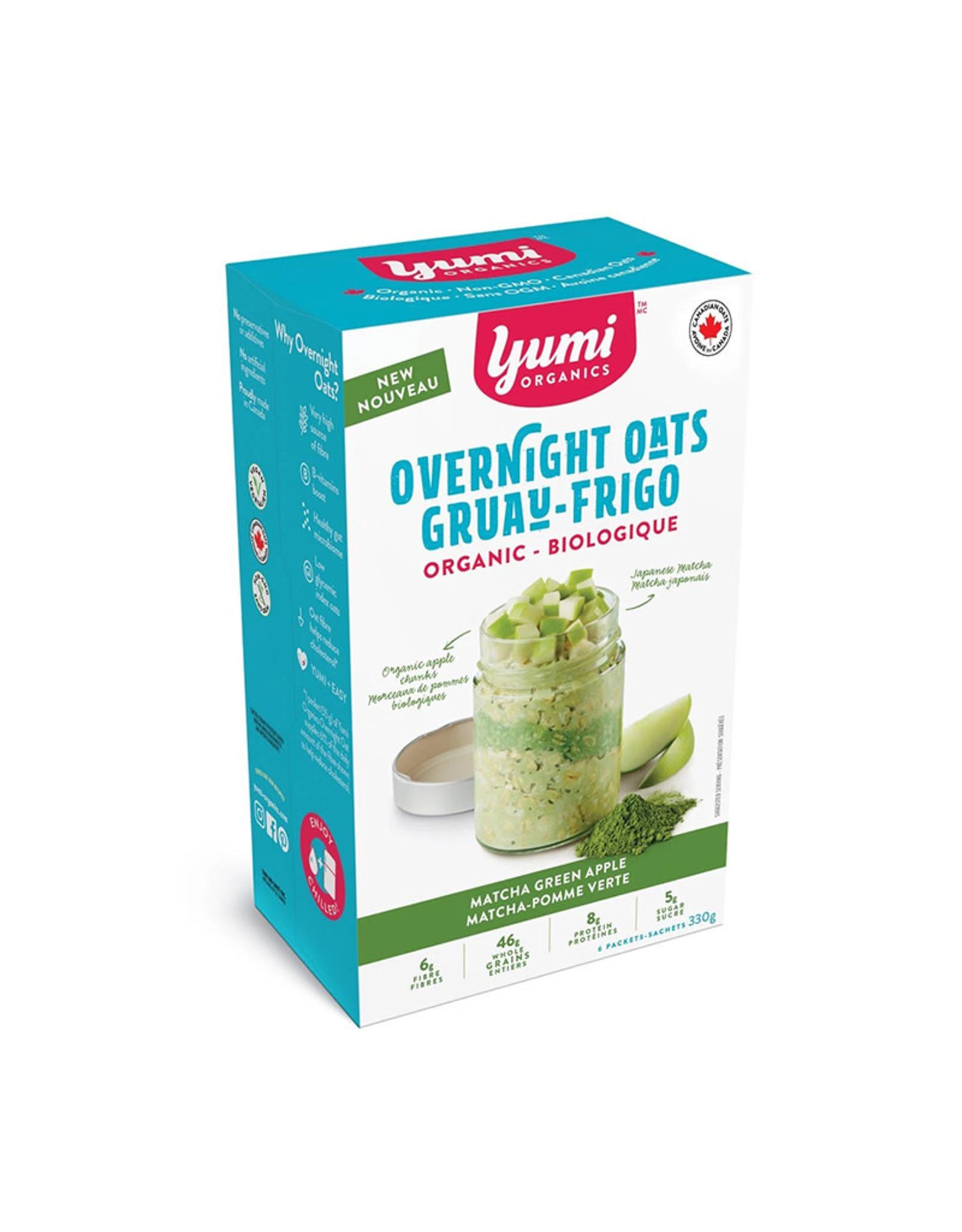 Yumi Organics Yumi Organics - Overnight Oats, Matcha Green Apple