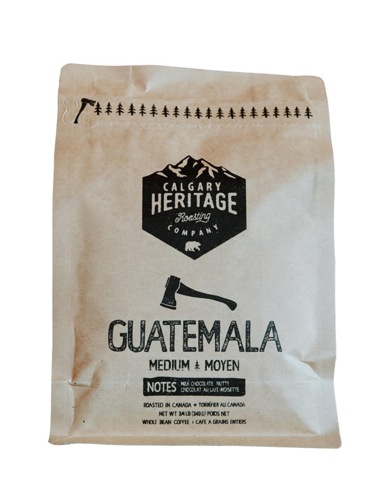 Calgary Heritage Roasting Company Coffe Calgary Heritage Coffee - Whole Bean, Guatemala (340g)