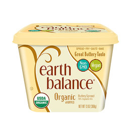 Earth Balance Earth Balance - Org. Buttery Spread, Whipped Traditional (369g)