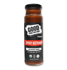 Good Food For Good Good Food For Good - Organic Ketchup, Spicy