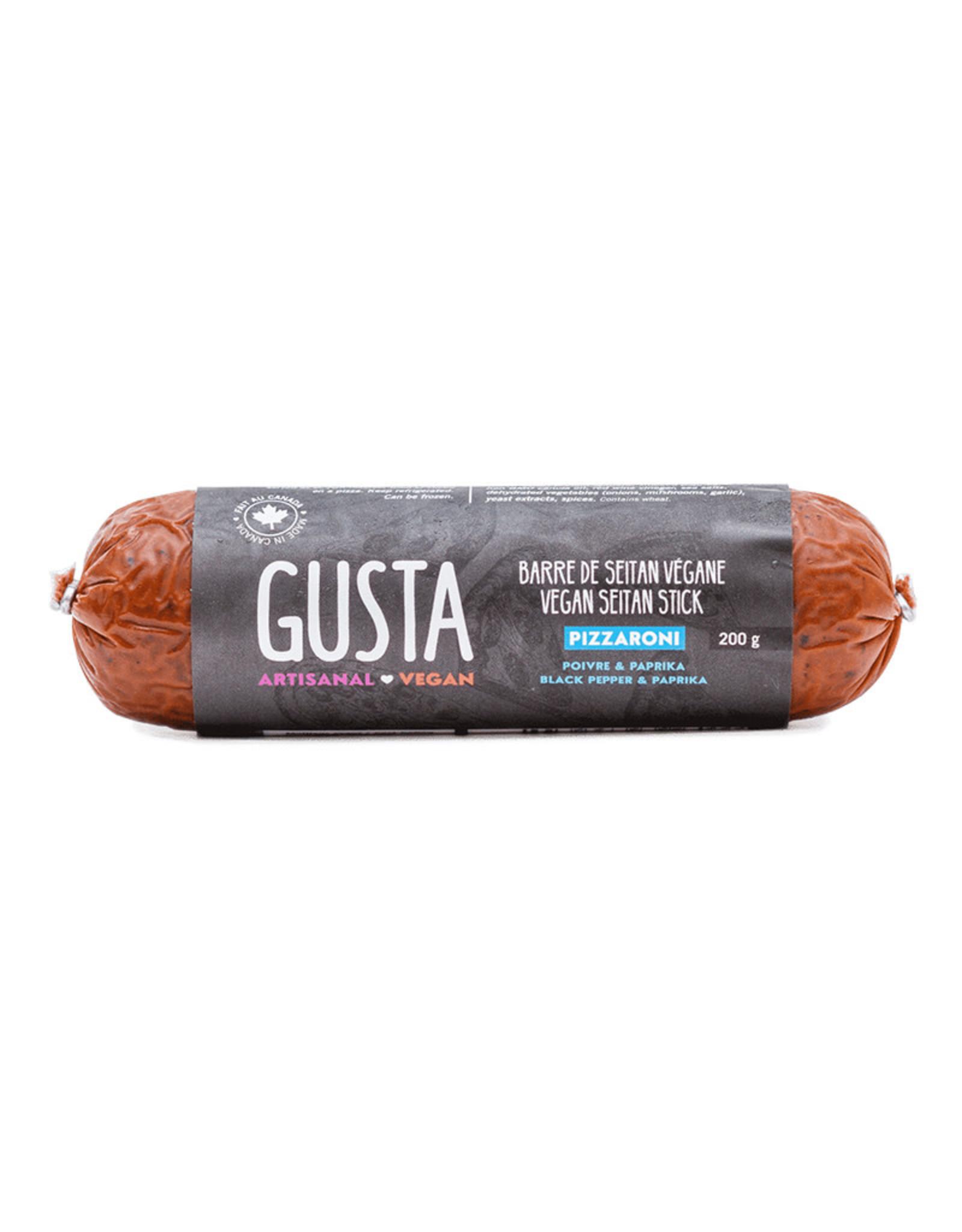 Gusta Gusta - Vegan Seitan Stick, Pizzaroni (200g)