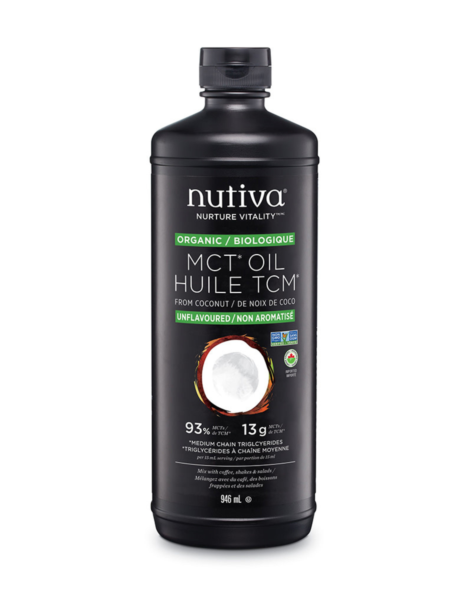 Nutiva Nutiva - MCT Coconut Oil (946ml)