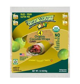 The Pure Wraps Pure Wraps - Coconut Wraps, Curry