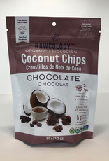 Rawcology Rawcology - Coconut Chips, Chocolate (90g)