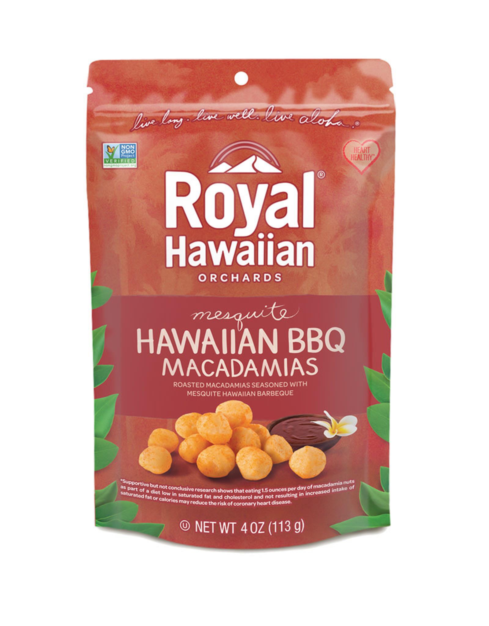Royal Hawaiian Orchards Royal Hawaiian Orchards - Macadamia Nuts, BBQ (113g)