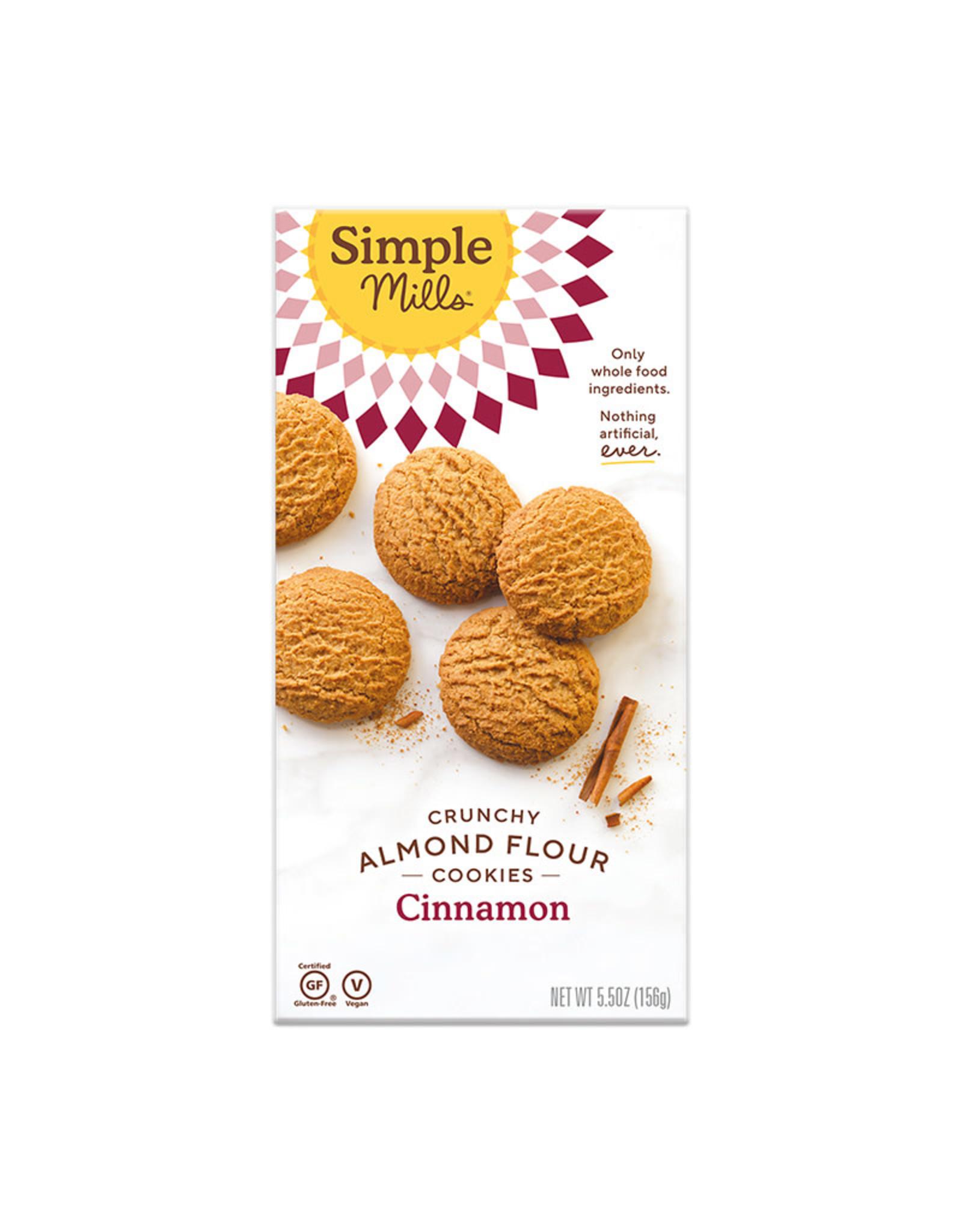 Simple Mills Simple Mills - Crunchy Cookies, Cinnamon (156g)