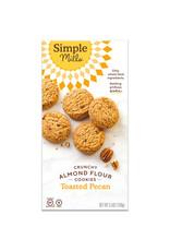 Simple Mills Simple Mills - Crunchy Cookies, Toasted Pecan (156g)