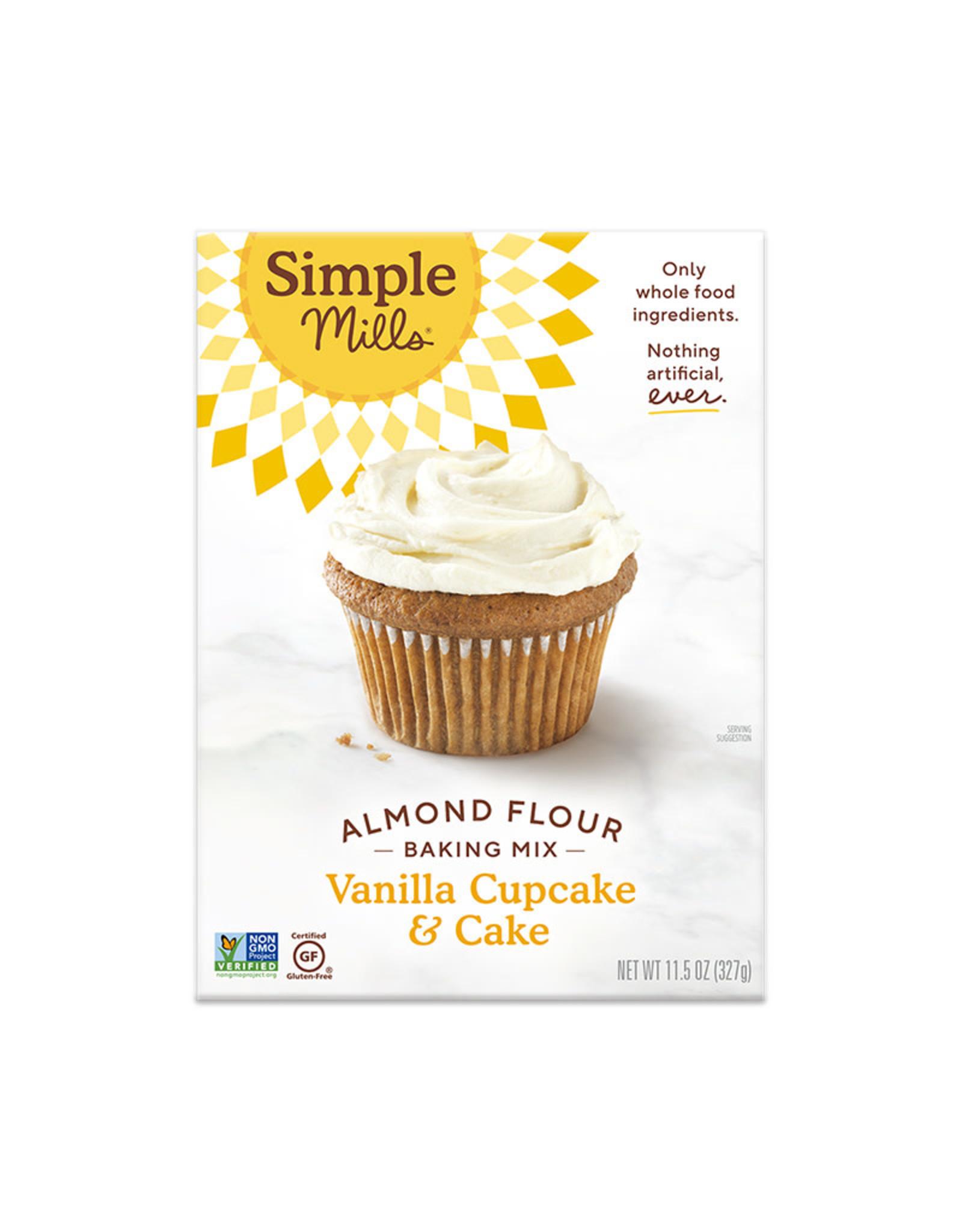 Simple Mills Simple Mills - Vanilla Cupcake & Cake Mix (327g)