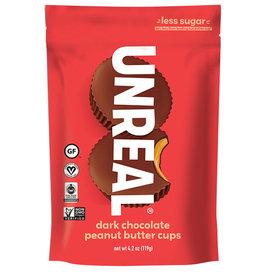 Unreal Unreal - Dark Chocolate Crispy Peanut Butter Cups (120g)
