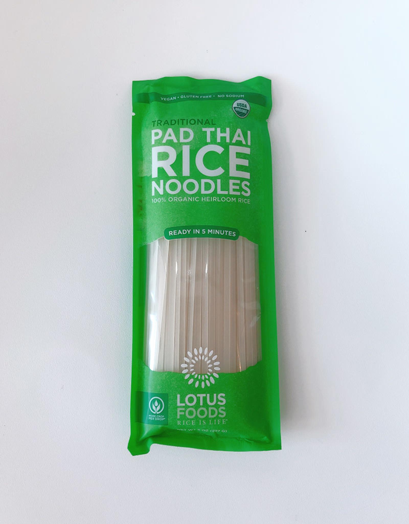 Lotus Foods Lotus Foods - Pad Thai Rice Noodles, Traditional Heirloom