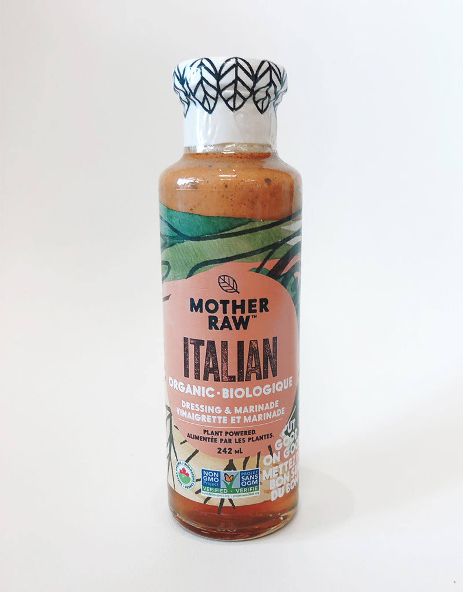 Mother Raw Mother Raw - Dressing, Italian (242ml)