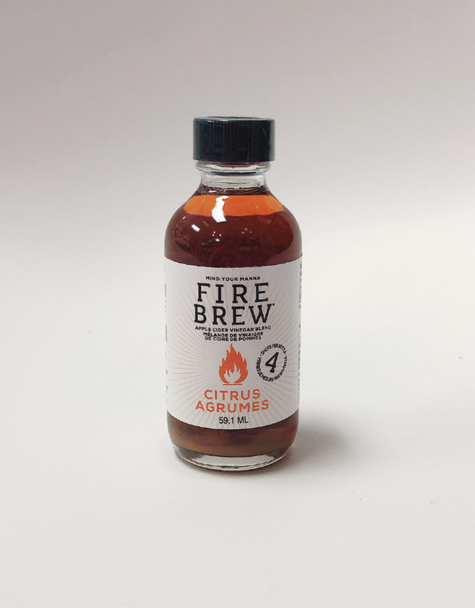 Fire Brew Fire Brew - Apple Cider Vinegar, Citrus (59ml)
