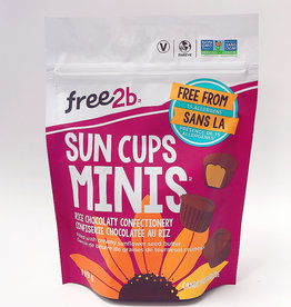 Free2B Free2B - Sun Cups Minis, Rice Chocolate Coated Sunflower Butter (119g)