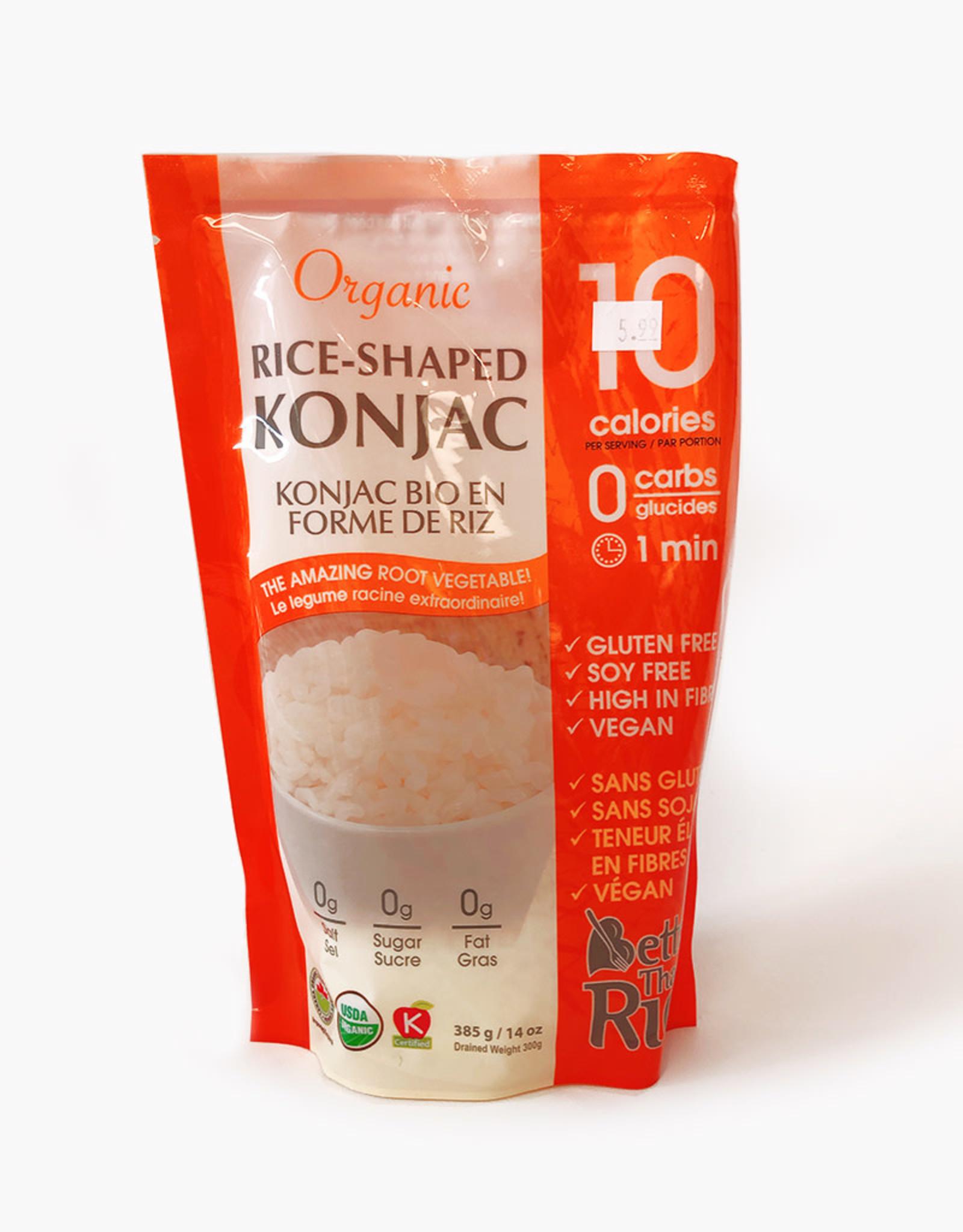 Konjac Foods Konjac Foods - Better Than Rice, Konjac Rice (385g)
