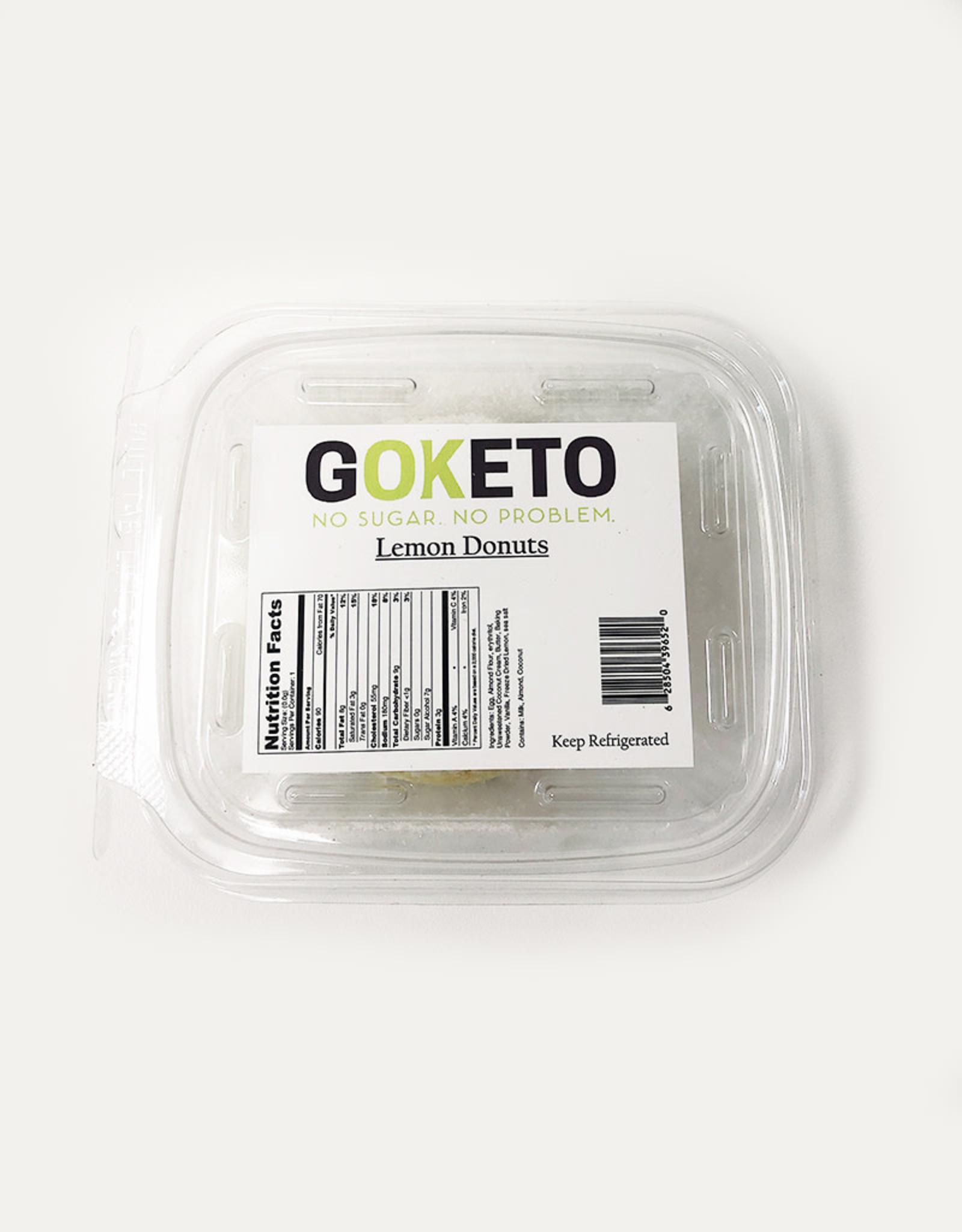 GoKeto GoKeto - Donuts, Lemon