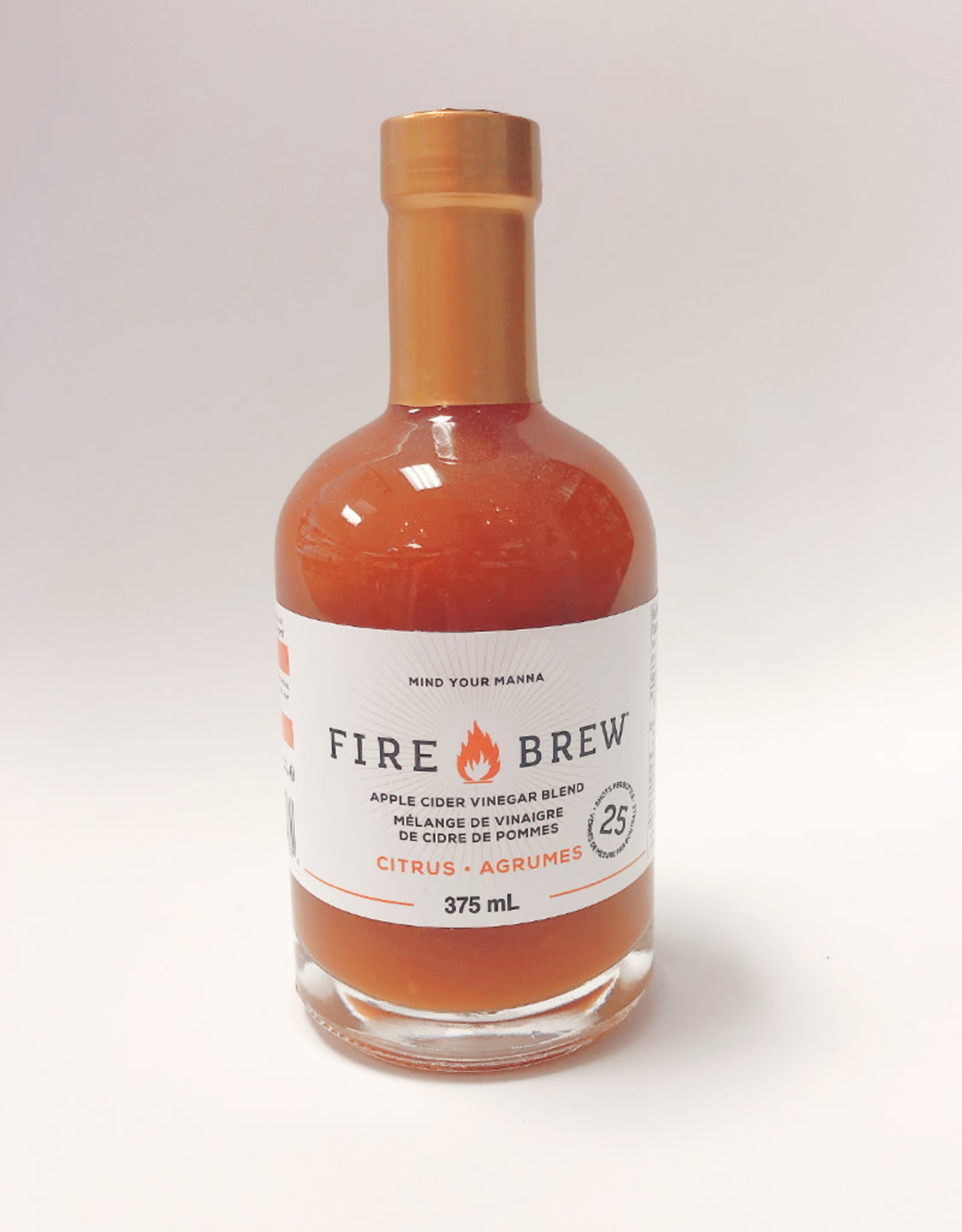 Fire Brew Fire Brew - Apple Cider Vinegar, Citrus (375ml)