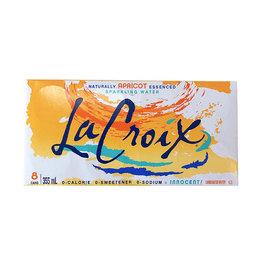 La Croix La Croix - Sparkling Water, Apricot (8 Pack)