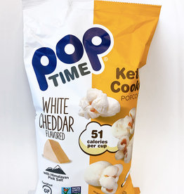 Pop Time Pop Time - Kettle Corn, White Cheddar (198g)