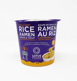 Lotus Foods Lotus Foods - Organic Rice Ramen Noodle Soup, Masala Curry Cup