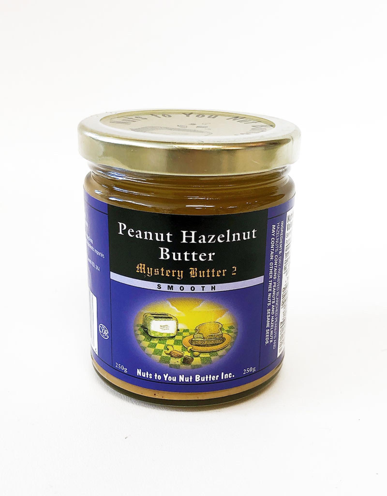 Nuts To You NTY - Peanut Hazelnut Butter (250g)