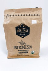 Calgary Heritage Roasting Company Coffe Calgary Heritage Coffee - Whole Bean, Indonesia (340g)