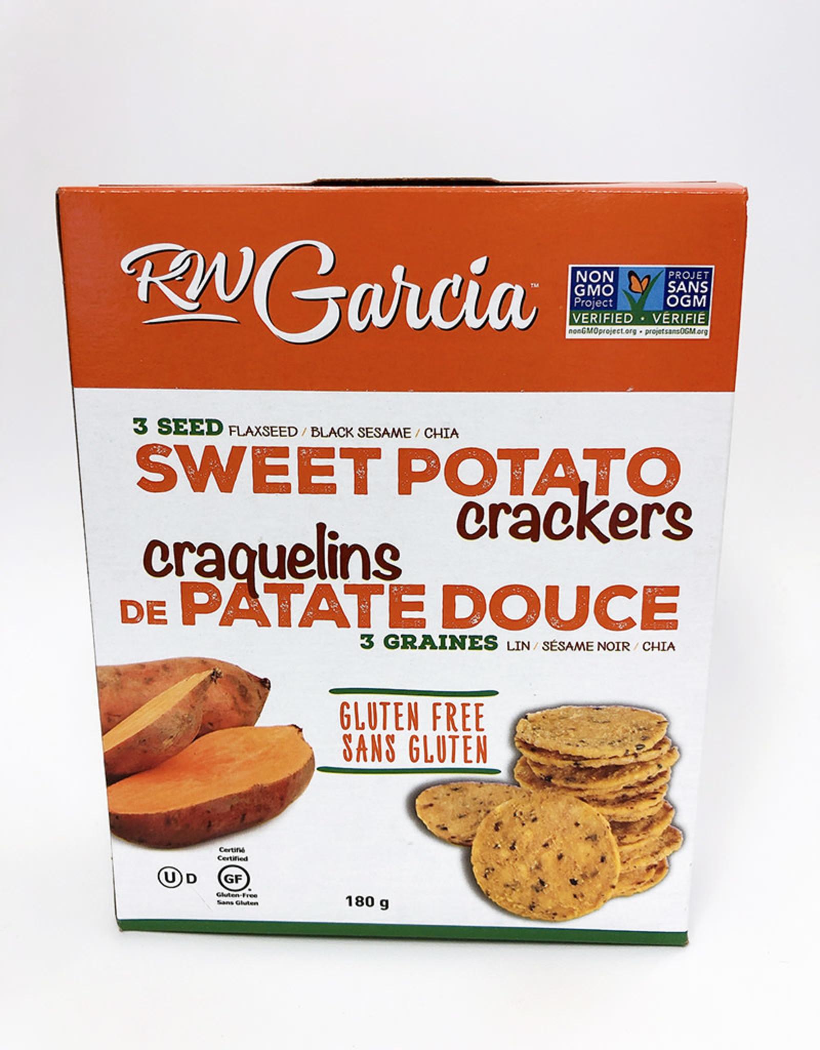 R.W. Garcia R.W. Garcia - 3 Seed Crackers, Sweet Potato (180g)