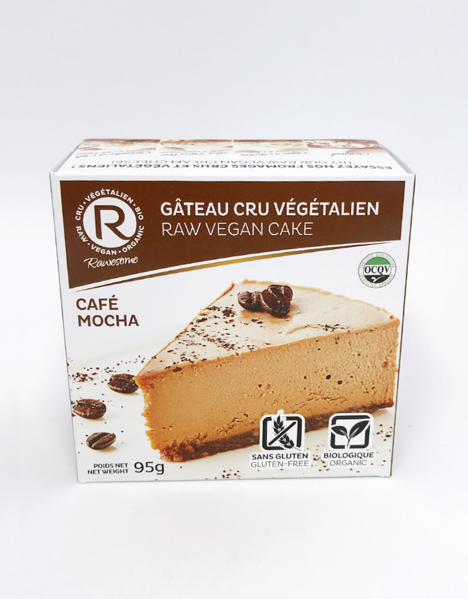 Rawesome Rawesome - Raw Vegan Gluten-Free Cake, Cafe Mocha BIO (95g)