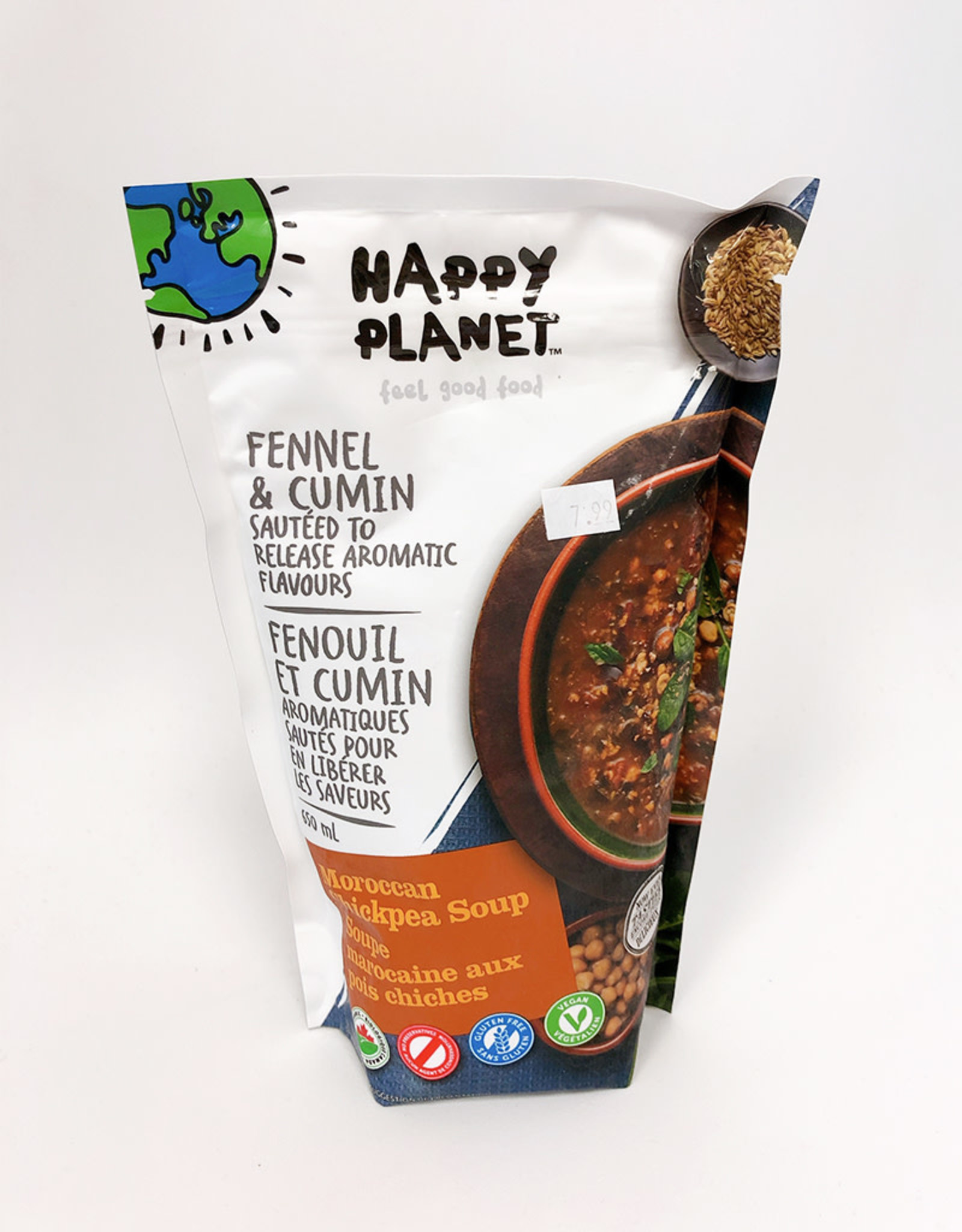 Happy Planet Happy Planet - Soup, Moroccan Chickpea (650ml)