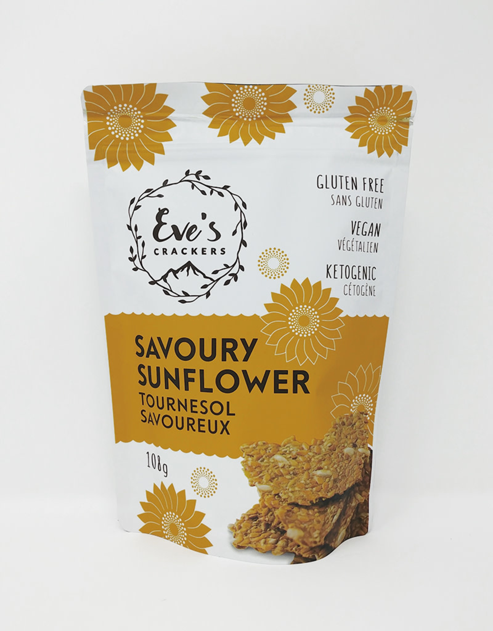 Eve's Crackers Eves Crackers - Savoury Sunflower