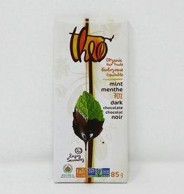Theo Theo - Dark Chocolate, Mint 70% (85g)