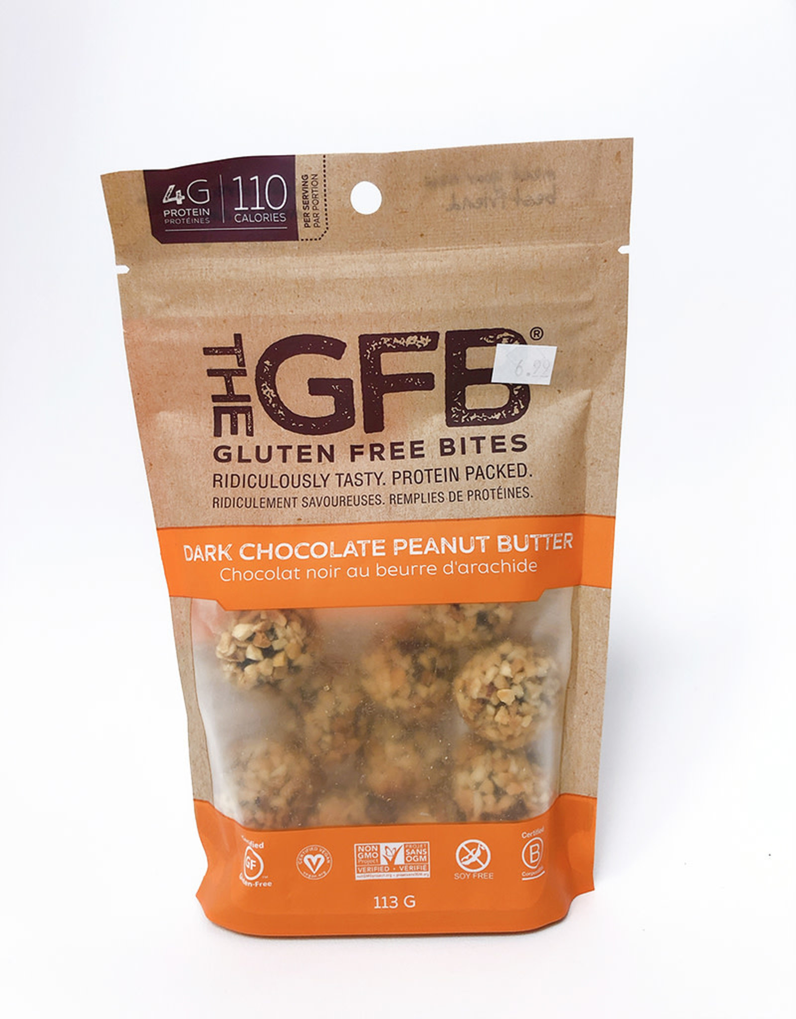 The GFB The GFB - Bites, Dark Chocolate Peanut Butter (113g)
