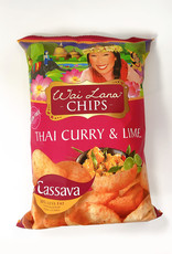 Wai Lana Wai Lana - Cassava Chips, Thai Curry & Chili Lime (85g)