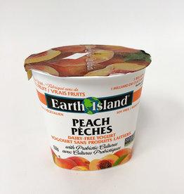 Earth Island Earth Island - Yogurt, Peach (150g)