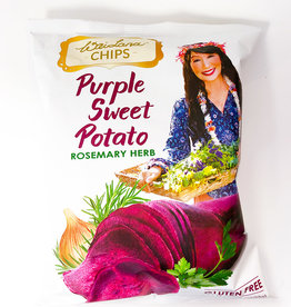 Wai Lana Wai Lana - Cassava Chips, Purple Sweet Potato (85g)