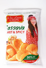 Wai Lana Wai Lana - Cassava Chips, Sweet & Spicy (85g)