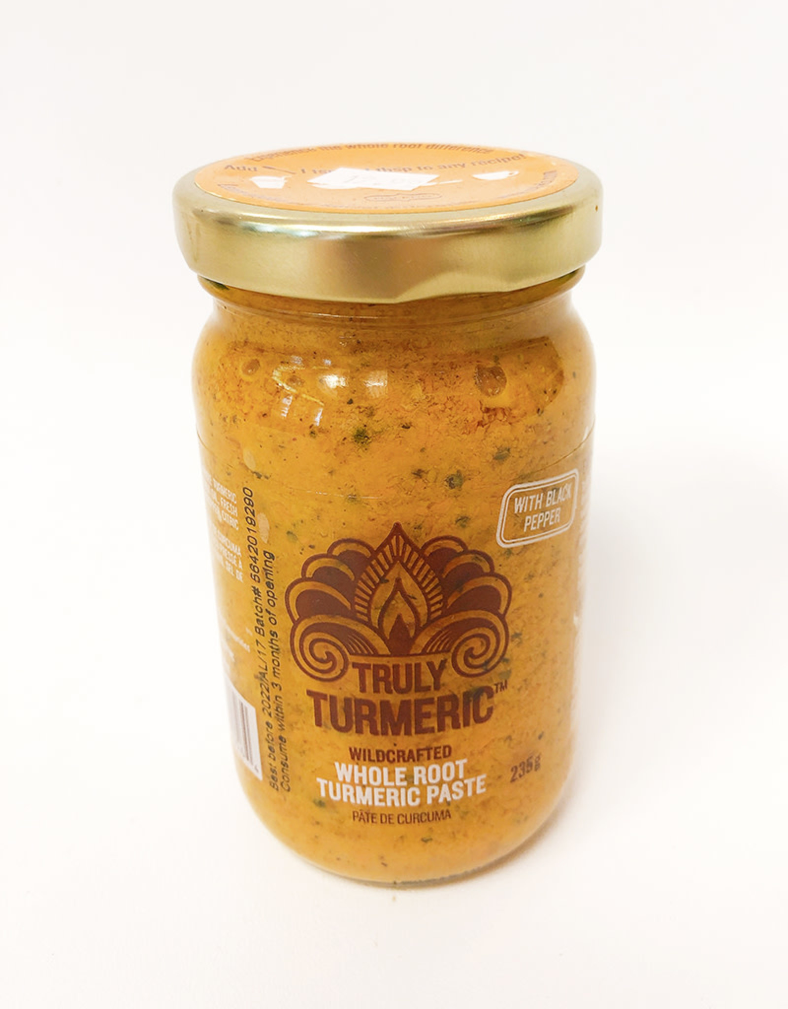 Truly Turmeric Truly Turmeric - Paste, Black Pepper (235g)