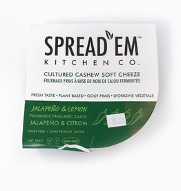 Spread'Em Kitchen SpreadEm Kitchen - Jalapeno & Lemon (183g)