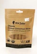 Wild Tusker Wild Tusker - Organic Ceylon Cinnamon - Sticks (20g)