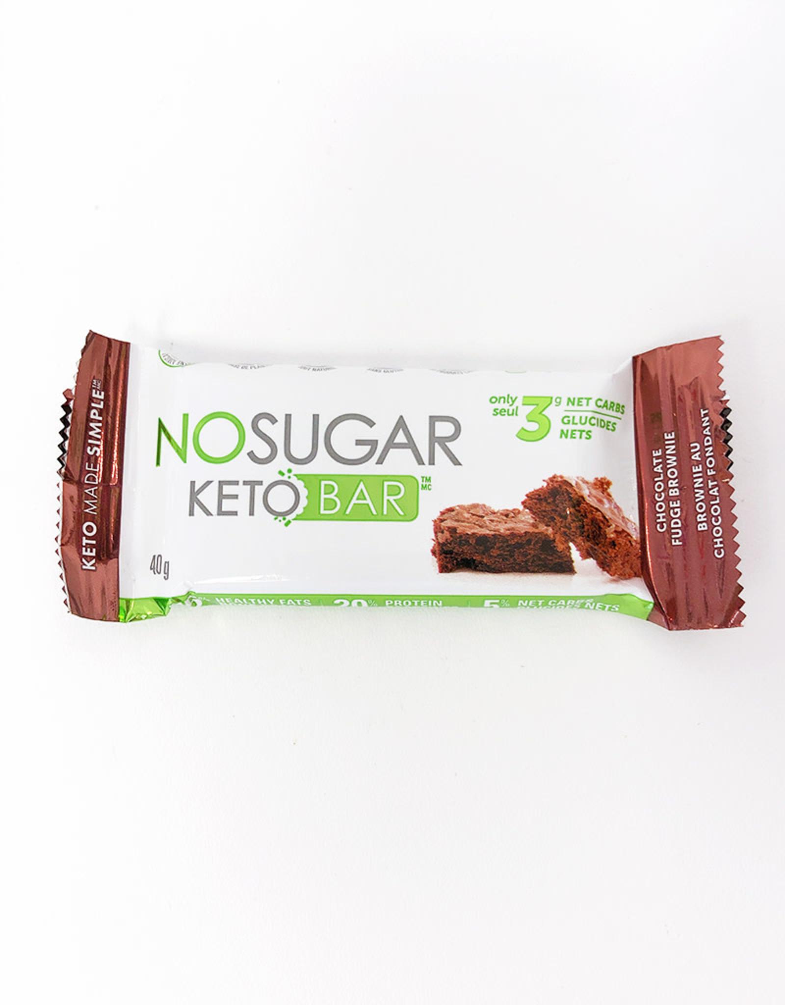Vegan Pure Vegan Pure - Keto Bar, Chocolate Fudge Brownie (40g)