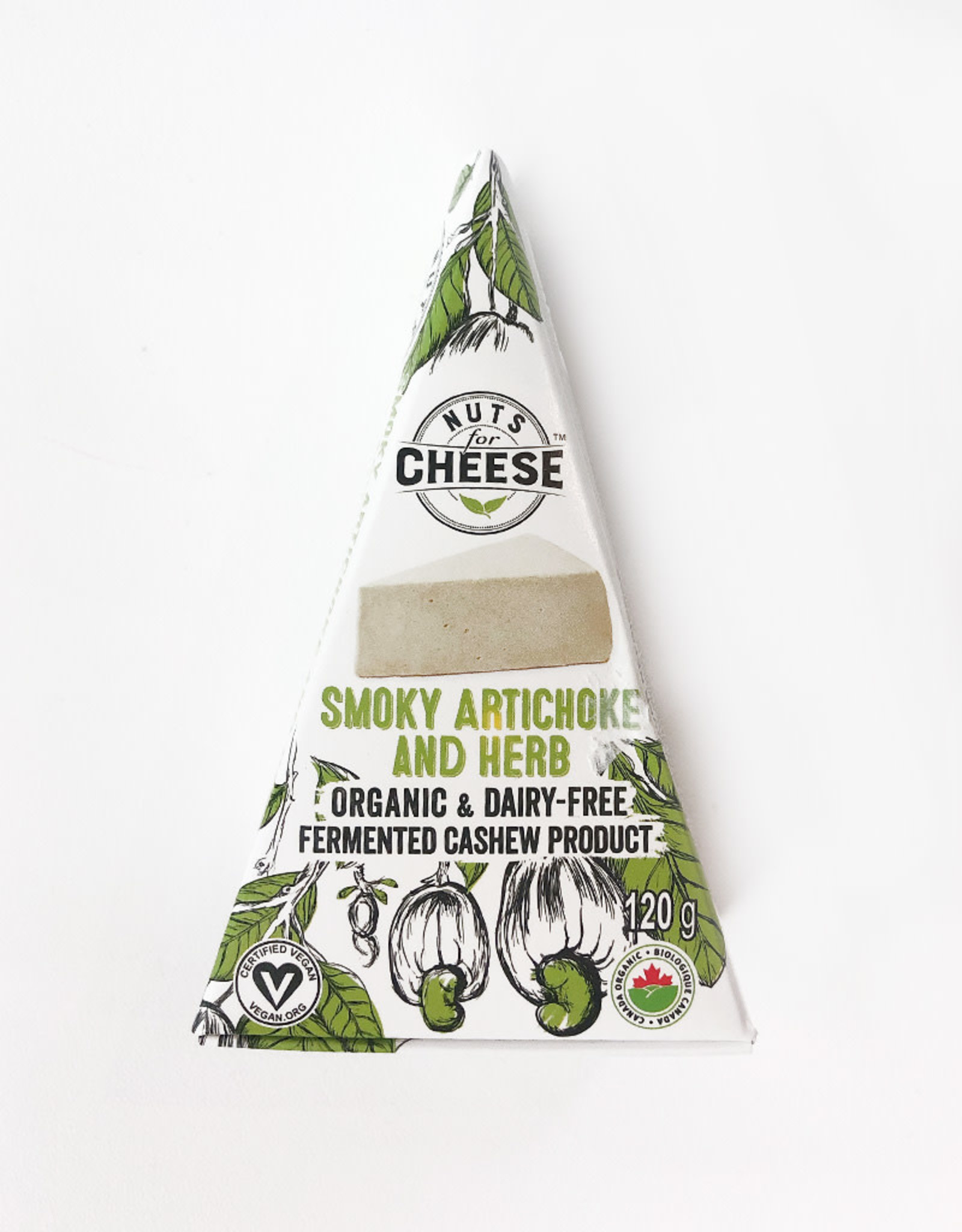 Nuts for Cheese Nuts For Cheese - Smoky Artichoke & Herb (120g)