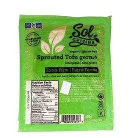 Sol Cuisine Sol Cuisine - Tofu, Organic Sprouted (400g)