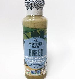 Mother Raw Mother Raw - Dressing, Greek (242ml)