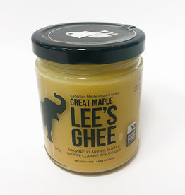 Lee's Ghee Lees Ghee - Great Maple (210g)