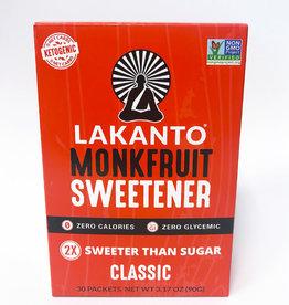 Lakanto Lakanto - Monkfruit Sweetener, Classic (30pk)
