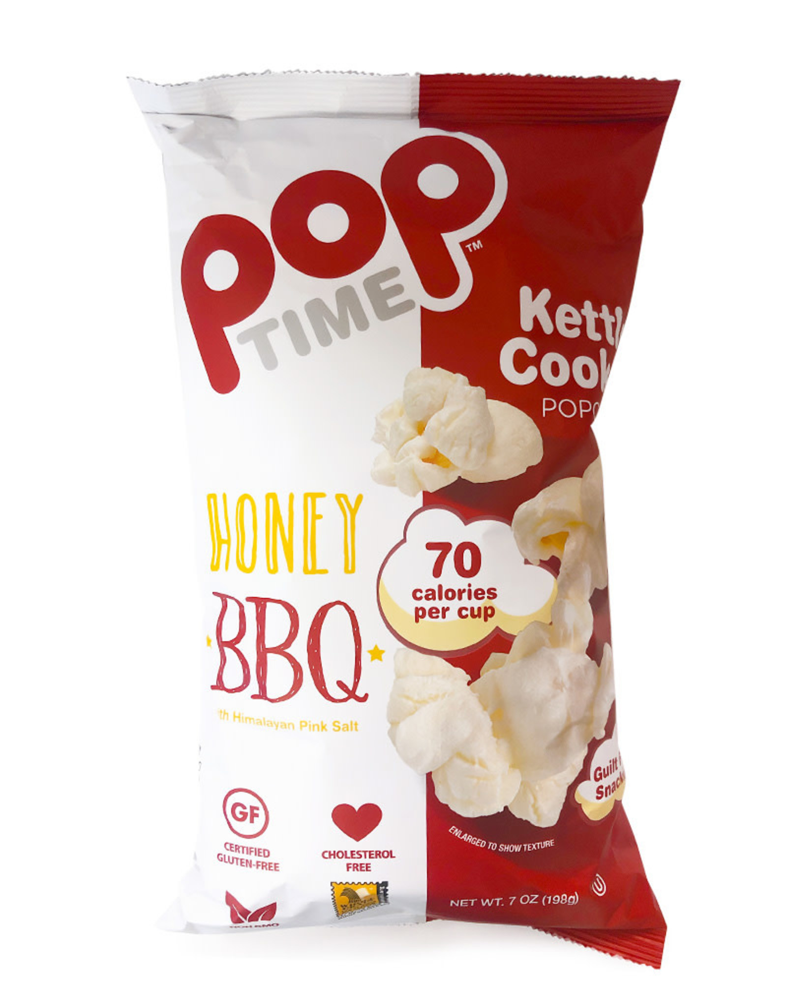 Pop Time Pop Time - Kettle Corn, Honey BBQ (198g)