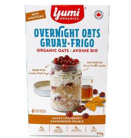 Yumi Organics Yumi Organics - Overnight Oats, Maple Cranberry