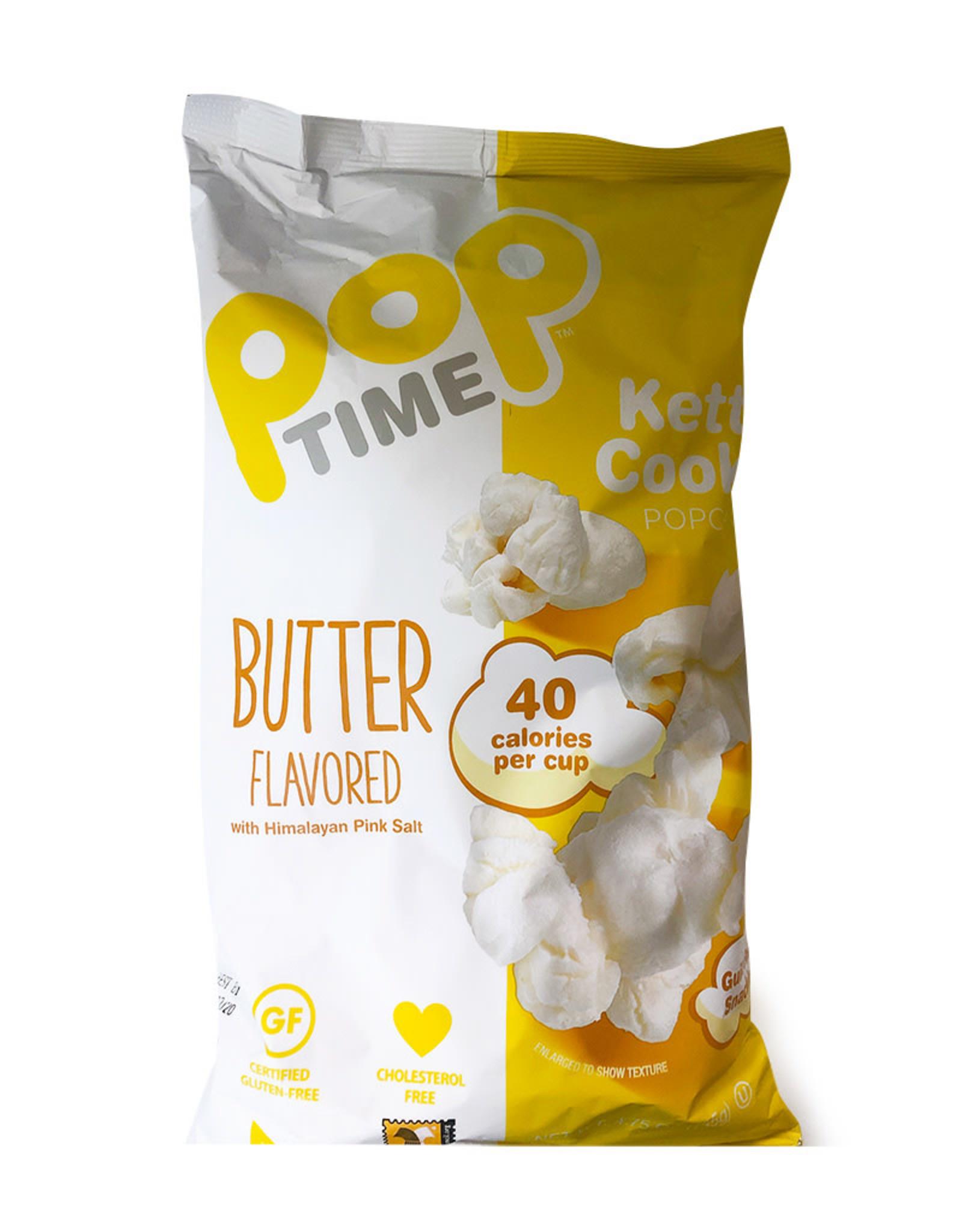 Pop Time Pop Time - Kettle Corn, Butter Flavour (135g)