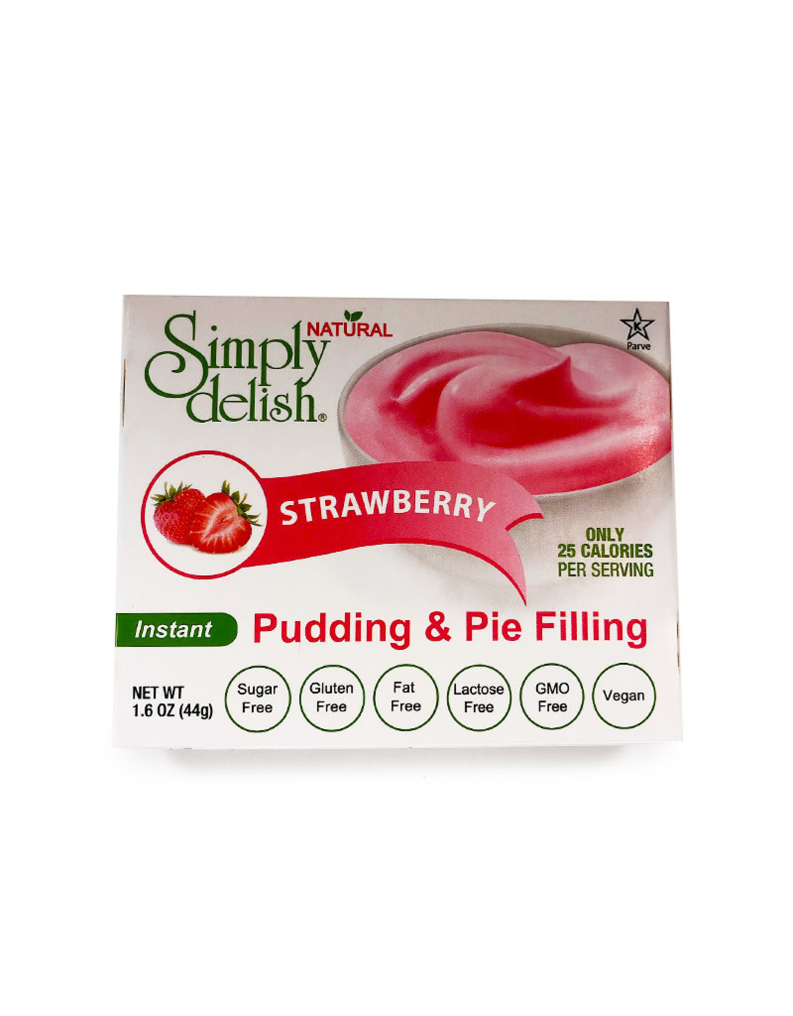 Simply Delish Simply Delish - Pudding, Strawberry