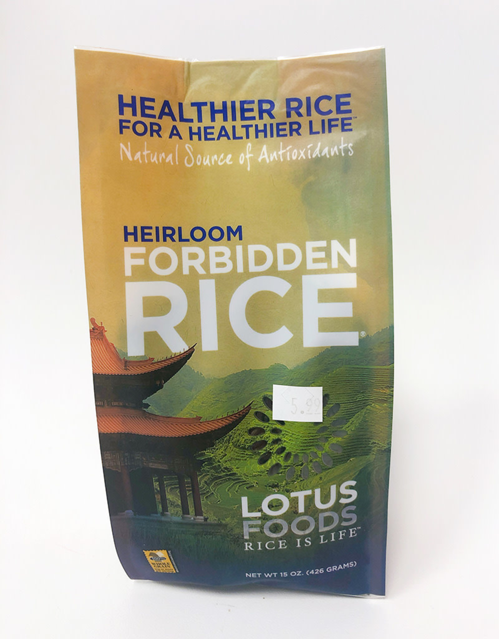 Lotus Foods Lotus Foods - Heirloom Rice, Forbidden Black Rice (425g)